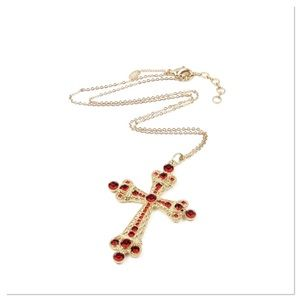 Jewelry - 🌸Coming Soon🌸 Austrian Crystal Cross Necklace